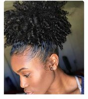 Top Quality Afro Kinky Curly Roothtail para mulheres Natural Black Remy Hair 1 Piece Clipe em Cabos De Cabos 100% Human Hair 120g Divas Products