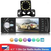 1 DIN 4.1inch 자동차 멀티미디어 안드로이드 비디오 플레이어 1din 스테레오 USB 2.0 자동차 라디오 블루투스 MP5 플레이어 TFT 디지털 스크린 1