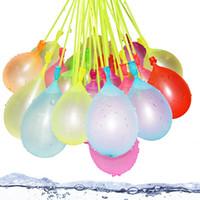 بالونات المياه اللعب حقن المياه السريع مملوءة الصيف مياه الصيف القنبلة الاطفال البالونات مملوء بالماء الشاطئ متعة حزب chindren أطفال اللعب DBC BH4445
