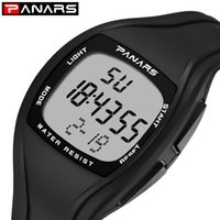 Panários homens moda relógios ao ar livre esporte relógio despertador cronógrafo 50m relógio impermeável homem relógio digital relógios 8112 201125