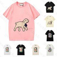 셔츠 21ss 새로운 여성 양고기 망 디자이너 T 티셔츠 패션 편지 인쇄 짧은 소매 레이디 티셔스 Luxe Womens 캐주얼 의류 상단 의류