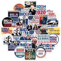 Bagaj Buzdolabı Paster 100pcs / lot Fonksiyonlu Sticker E111801 için 2021 ABD Başkanlık Seçim Joe Biden Harries Baskılı Çıkartma