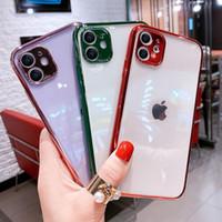 Luxus-Überzugskieselgel-Soft-Handy-Kasten für iPhone XR x X x 6 6S 7 8 PLUS 11PRO MODE-Mobiltelefon 12 Case-Shell-Großhandel DHL