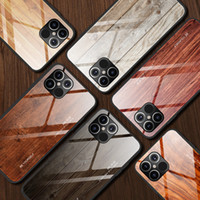 New Luxury Liquid Silicone Wood Grain Phone Case For iPhone ...