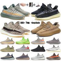 sapatos yeezy boost 350 stock x kanye west Tamanho 13 das mulheres dos homens tênis de corrida yecher israfil enxofre asriel luz da cauda eliada abez formadores