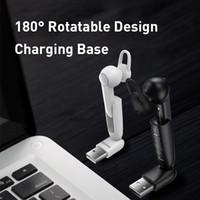 2020 Magnético Carregamento Sem Fio Bluetooth Fone de Ouvido Bluetooth Handset Único Handsfree com Microfone Business USB Ear Hook