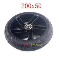 프론트 및 리어 스쿠터 고체 타이어 Ninebot ES1 ES2 전기 스쿠터 Kickscooter 8 인치 200x50 비 공압 Tire1