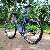 Seraph Aero Design Complete Bike FM268 Carbon Handbar Red Seraph Углеродные колеса с Shima0 R7000 GUIDGSSET