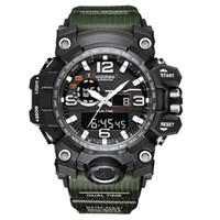 Choc Hommes Montres Sports G de style Big Cadran Digital Militaire Imperméable Montre Male Horloge Homme Montre Hommes Relogio Masculino Esportivo 201130