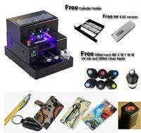 طابعات A4 حجم طابعة UV الأوتوماتيكية لحالة الهاتف، كرة الجولف، PVC زجاجة بطاقة الطباعة 1