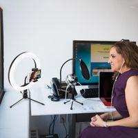 Light1 Light1 штатив световой кронштейн заливной лампа с подставкой для заполнения 18 / 20см Live Makeup видео Youtube студия кольцо фотография светодиодный BEBUV