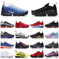 Clássico tn mais homens sapatos esportivos gelo azul branco vermelho volt branqueado mulheres des chaussures zapato sneakers