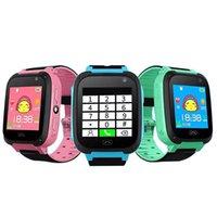 Q9 Smart Watch per bambini Guarda con telecamere telecamere Anti-Lost Bambini SmartWatch Lbs Tracker Orologi da polso SOS Call per Android