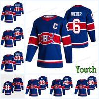 Gioventù Montreal Canadiens 2021 Reverse Retro Jersey Petry Tomas Tatar Tyler Toffoli Joel Edmundson Carey Prezzo Shea Weber Brendan Gallagher