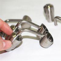 Ручные инструменты для курения Ведра Bubbler Banger Nails 6 в 1 Титановый ногтя Недостатный Универсальный мужской Женский 10 мм 14 мм 18 мм Соединение Подходит для стекла Бонг