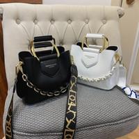 2020 الفاخرة المرأة واحدة الكتف حقيبة يد بو الجلود جودة عارضة الأزياء الكلاسيكية حقيبة messenger C0312