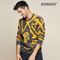 Keegou outono inverno homens camisola marca quentes de malha moda knitwear streetwear lazer suéteres superiores tamanho lz-1754 201028