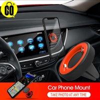 Porte-téléphone portable monte titulaires de bloc de verrouillage de type porte-voiture pour le support mobile de mont d'évent automatique