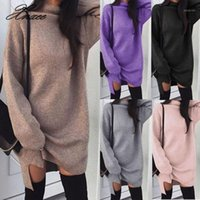 Women clothes Autumn Winter Long Sleeve solid Tops pullover ...