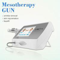 Mesoterapia de belleza Pistola RF LED Terapia de luz Sin neón Meso Arma Inyección de agua Inyección de ácido Inyección contra la eliminación de la piel Rejuvenecimiento