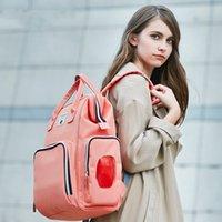 패션 인형 브랜드 대용량 엄마 배낭 방수 아기 기저귀 배낭 nappy 가방 변경 가방 wq526