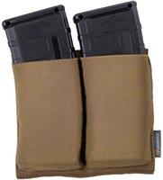 Открытый Idogear Elastic Double Mogazine Magazine Tactical Mag Holder для M4 Rifle Magazines 1 NJ4BM