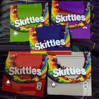 Skittles Svuoti 400 mg MEDICATO SKILLS AUDO AUTORIORIo Seattle Mescolo Zombie Berry Berry Sapore arcobaleno Skittles Packaging