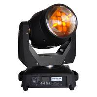 Venta caliente 2pcs / lot 75W Led móvil de la viga de luz DMX512 llevado móvil del punto de luz (EE.UU. luminoso) / FOCUS / 3 facetas Gobo Luz 90V-240V