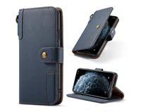 탑 럭셔리 제시 가죽 PU 지갑 케이스 플립 커버 전화 케이스 아이폰 12 11PRO Max Samsung