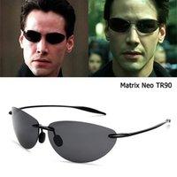 Jackjad Fashion Matrix Neo Style TR90 Ultralight Sunglasses Polarized Sunglasses Uomo senza montatura Sport sportivi Brand Occhiali da sole oculos de sol y1207
