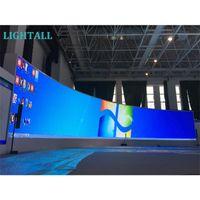Muestra a todo color Curved LED Pantalla de aluminio P3.9 Indoor 500x1000mm Firma flexible P2.6 P4.8 P2.9