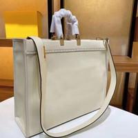 Klassische Mode-Designer-Tasche Übergroße Handtaschen Nachahmung Marken Frauen Luxurys Designer-Taschen 2021 Echtes Leder Tote 4A + Qualitätskupplung