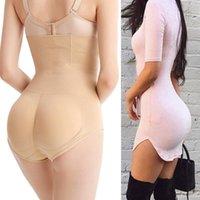 Kvinnors Shapers Buhip Enhancer Padded Shaper Tummy Control Panties Booty Lifter Shapewear Ass Padding Underkläder Säkerhet Shorts Kjol