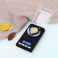 20g / 50g 0.001g MG 전자 균형 식품 주방 체중 스케일 미니 디지털 LCD 균형 무게 포켓 보석 다이아몬드 스케일 T200326