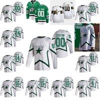 Dallas Stars 2021 Reverse Retro Hockey-Trikots 24 Roope Hintz Jersey Jamie Benn Alexander Radulov Tyler Seguin Ben Bischof Custom genäht