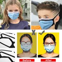 Anti-Nebel-Maske Seil Silikon-Masken Seil Bandage Anti-Squeeze-Zubehör Gesichtsmaske Silikon Anti-Nebel-Maske Liefert XD24251