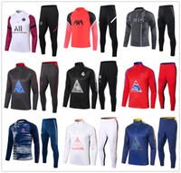 20 21 Uomini Uomo Humanrace Tuta da calcio Real Madrid Soccer Trasuit 2020 2021 Uomo Football Training Suit Suite Suite Chandal Jogging