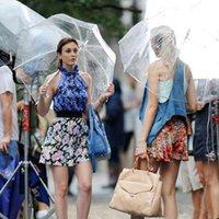أنيقة البساطة فقاعة ديب قبة مظلة أبولو شفاف مظلة فتاة الفطر مظلة فقاعة واضحة