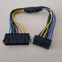ATX PSU 18AWG 18Pin bis 24-Pin-Adapter-Wandler-Stromanschlusskabel für Z420 Z620 Desktop-Workstation Montherboard 30cm1