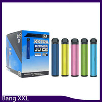 Dispositif de vapes jetables Bang XXL Dispositif 800mAh Batterys 6 ml Pods Vapeurs vides de 2000 Puffs Bangs Bang XXtra Kit vs Puff XXL Bang XL XTRA 0268170-2