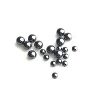 4 мм 6 мм SIC Terp Pearl Ball вставка с кальяном 100% Clibon Carbide черная керамика прядильные вершины вставки для кварцевых банкоматов