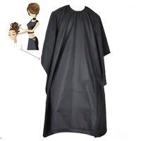 أسود للماء الكبار تصفيف الشعر كيب ثوب الأطفال قطع الشعر المئزر منع صبغة manteau ثوب حلاقة التصميم tools1
