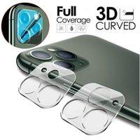 حامي الشاشة عدسة الهاتف 3D 9H شفافة كاميرا خفف من الزجاج المقاوم للخدش فيلم غطاء لفون 12 ميني 11 برو ماكس