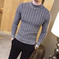 Uomini Maglione Brand Autumn Casual Pullover Uomo Solido Colore Solido Confortevole Mens Maglione di Natale Collo rotondo Slim Fit Pull Homme
