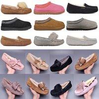 2021 الكلاسيكية بوم عارضة الأحذية قصيرة الثاني بيلي القوس استراليا النعال النسائية من جلد الغزال المرأة التمهيد الشتاء الثلوج الأحذية الفراء فروي الأسترالي بو Z81H #