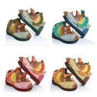 حار الإبداعية 3D الفتيات الأحذية ديناصور أحذية الأطفال طفل الفتيان متوسط الرياضية الأطفال الدفء لينة مريحة حجم 25-30 أسلوب 3