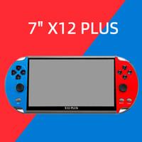 Yanwen Ship 7Inch X12 Plus Mini Retro Handheld Game Console Player pour NES FC Kids Portable Classic Controller Controller intégré 16GB ROM Jeux