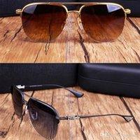 Óculos de sol dos homens de moda para homens desgintadores de mulheres óculos de marca grande óculos de sol UV400 Proteção Óculos com caixa original
