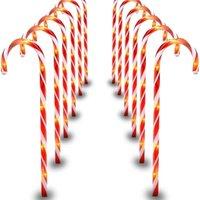 Fengreise Рождество Candy Cane Счастливого Рождества Украшения для Дома Рождество Navidad Noel Подарки Рождественский орнамент Новый год 2021 201127