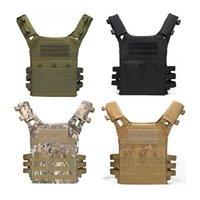 Giacche da caccia Body Body Armor JPC Molle Plate Carrier Gilet Outdoor CS gioco Paintball Attrezzature Drop